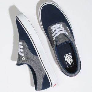 Vans Era Suede Blue And Grey Women's Shoes